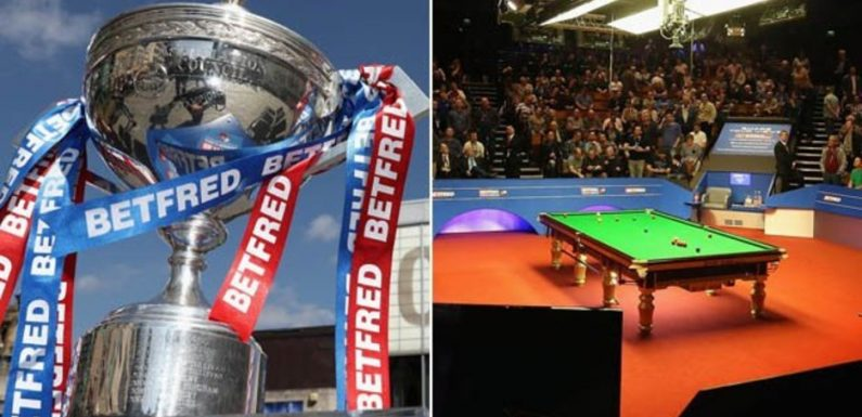 World Snooker Championship qualifiers draw: Who is playing TODAY? Full list of matches