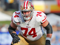 Niners LT Joe Staley 'not worried' about contract year