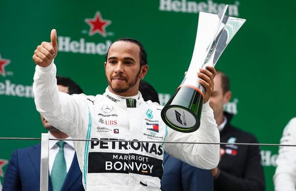 Lewis Hamilton claims second win of the season in Shanghai
