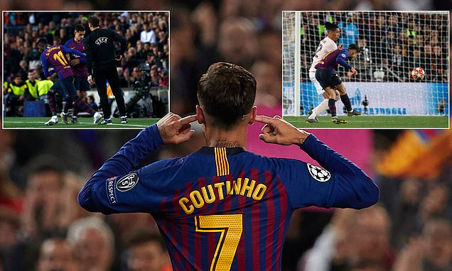 Barcelona fans won't forget Philippe Coutinho's taunting celebration