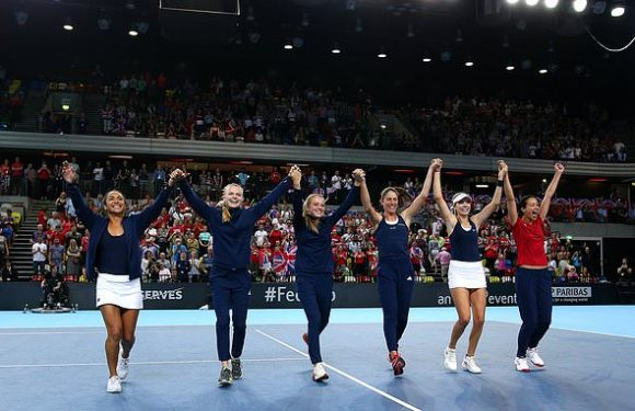Great Britain promoted after Fed Cup play-off win against Kazakhstan