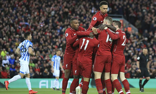 Liverpool take top spot in all-time English top-flight league table