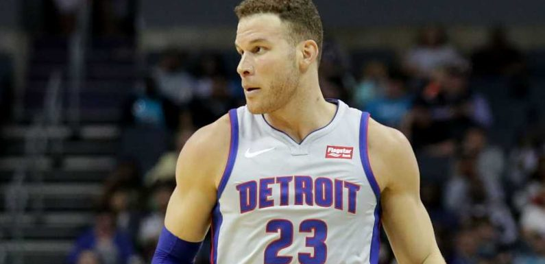 Blake Griffin injury update: Pistons star (knee) to miss all of Bucks series, report says