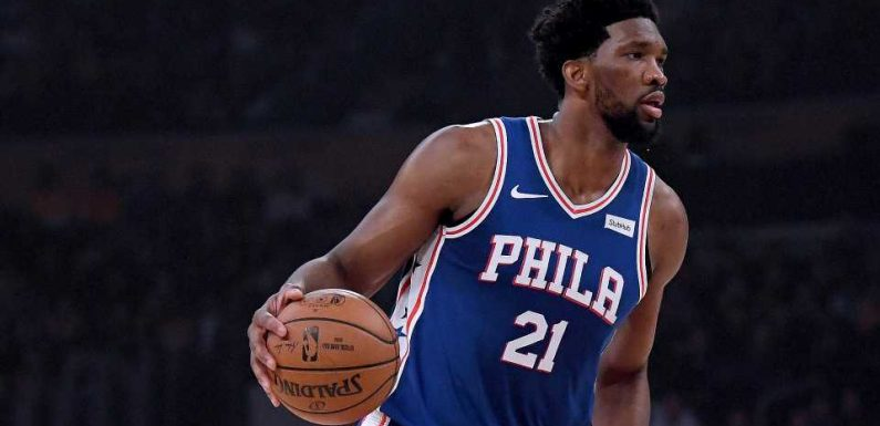 NBA playoffs 2019: Joel Embiid, Amir Johnson caught looking at phone on bench in Game 1