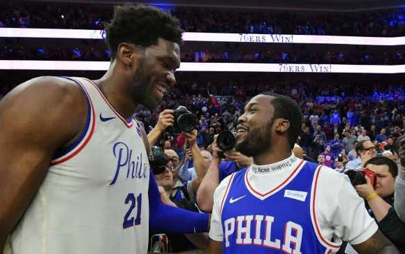 Sixers owner upset Meek Mill can't be in Toronto