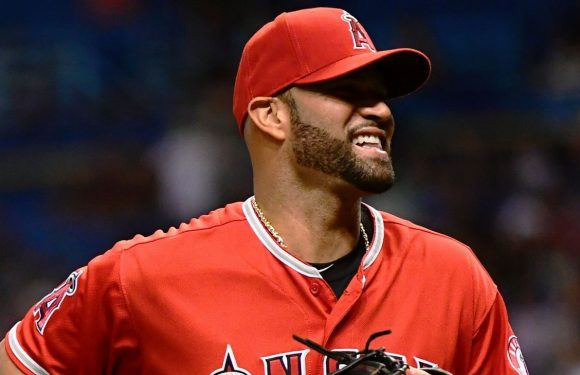 Pujols jumps Ruth for 5th place with 1,993 RBIs
