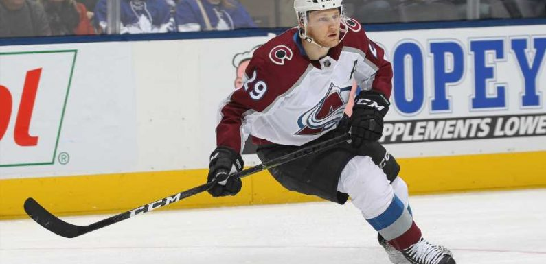 NHL playoffs 2019: Nathan MacKinnon sends Avs-Flames series to Denver tied 1-1