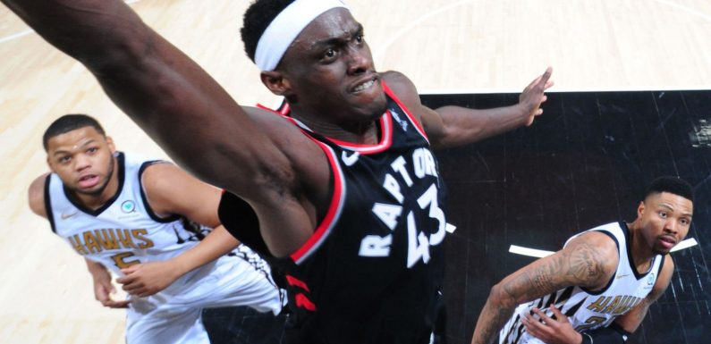 Toronto Raptors forward Pascal Siakam making case as NBA's most improved player