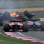 Chinese GP: Daniil Kvyat hits Lando Norris and Carlos Sainz