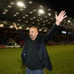 Marwan Koukash and Wire Flyer face off in half-time grudge match at Warrington vs Salford