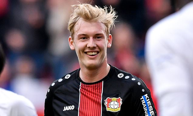 Tottenham line up summer move for £21.5m-rated Julian Brandt
