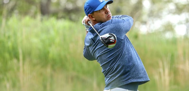Koepka shatters 36-hole major record with 128