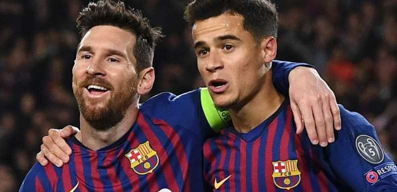 Lionel Messi hits out at 'ugly' Philippe Coutinho jeers during Barcelona's win over Liverpool