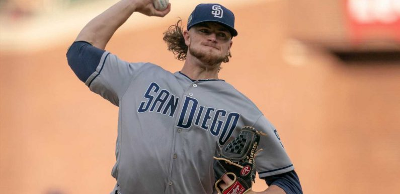 San Diego Padres send rookie right-hander Chris Paddack to Class A