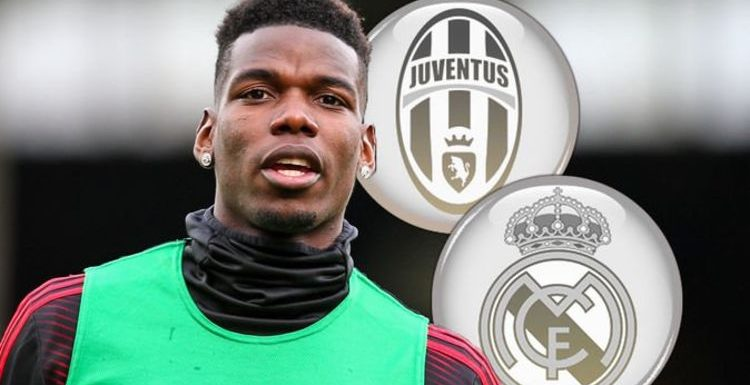 Man Utd star Paul Pogba picks between Real Madrid and Juventus after exit hint