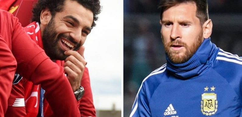 Liverpool fans make huge Mo Salah claim as incredible Lionel Messi stat emerges