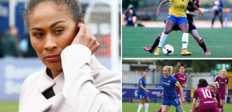 Soccer Aid 2019: Who are the four women playing for England and the Rest of the World?