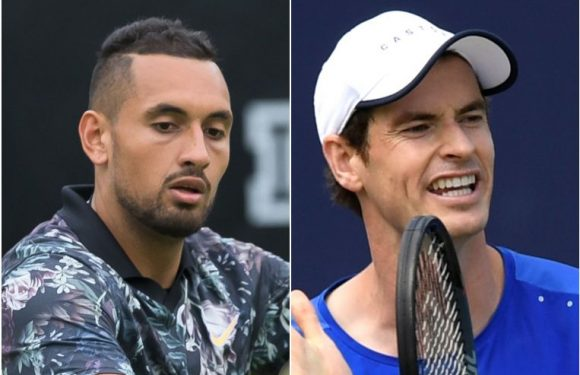 Tennis: Nick Kyrgios welcomes 'warrior' Andy Murray's return after recovering from operation