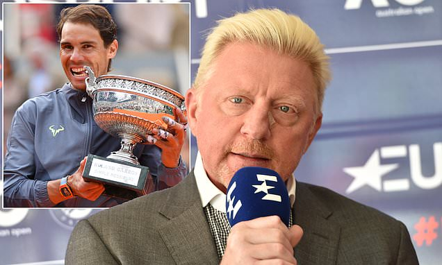 Boris Becker insists young male tennis stars need to up their game