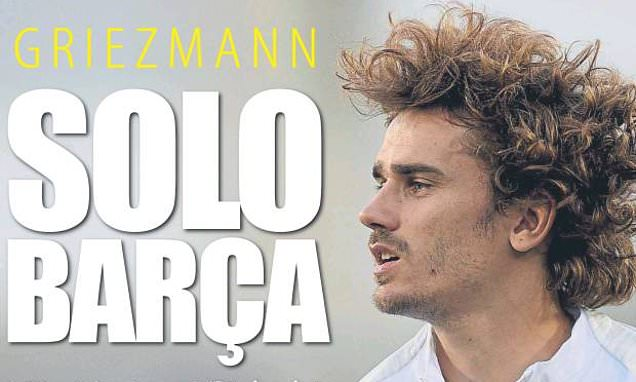 Antoine Griezmann is 'certain of a move to Barcelona' this summer