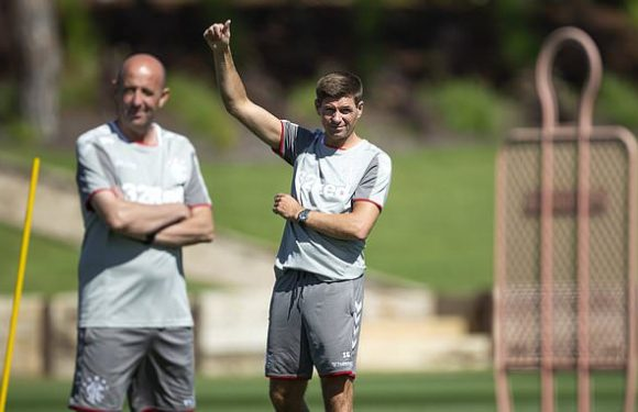 Gerrard insists he is under no pressure to sell star Rangers players