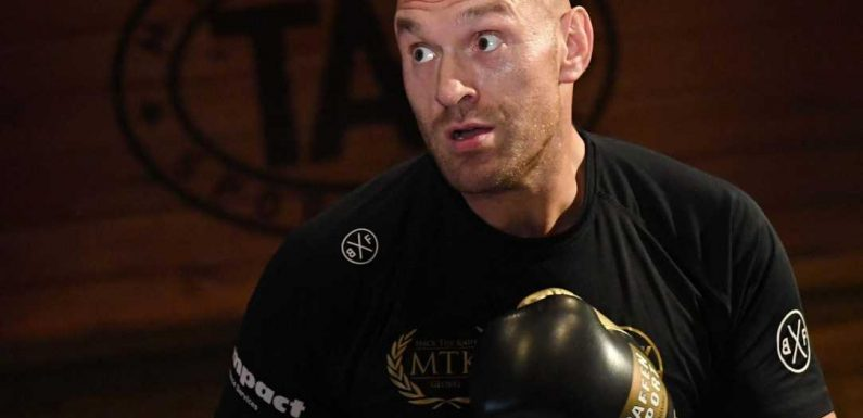 Tyson Fury vs Tom Schwarz: Anthony Joshua is 'finished' in boxing and will quit again, says 'Gypsy King'