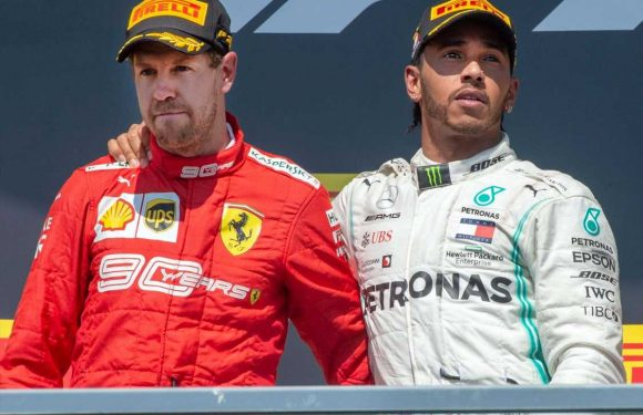 F1: Sebastian Vettel falling out of love with sport after Lewis Hamilton handed victory at Canadian Grand Prix