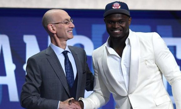 NBA draft: Zion Williamson is selected first by the New Orleans Pelicans
