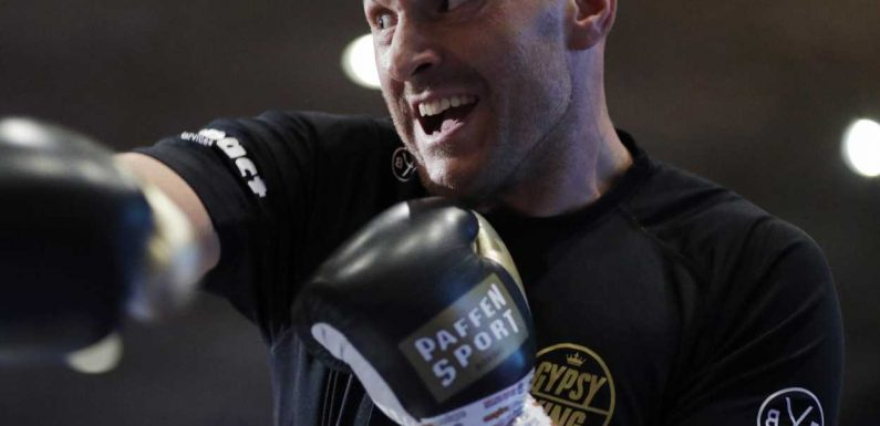 Tyson Fury vs Tom Schwarz: Expect smiles and laugher to disappear when first bell rings on Saturday night