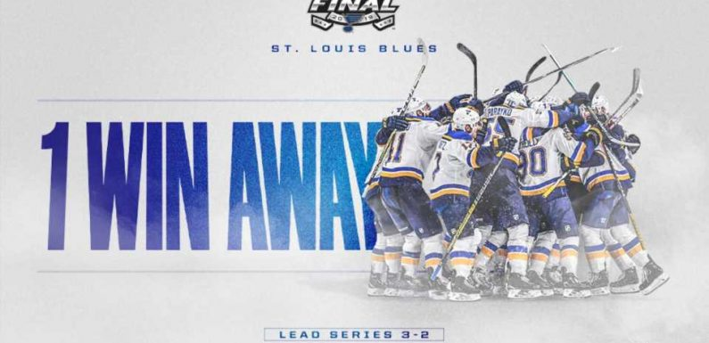 Stanley Cup Final: Blues by the numbers as they close in on history
