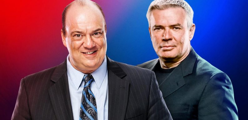 WWE names Paul Heyman and Eric Bischoff as Executive Directors, will run Raw and SmackDown