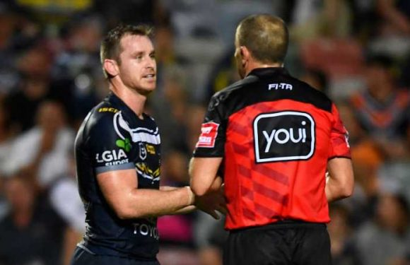 NRL talking points: Referee error costs North Queensland Cowboys, John Bateman earns more praise and interchange discussions