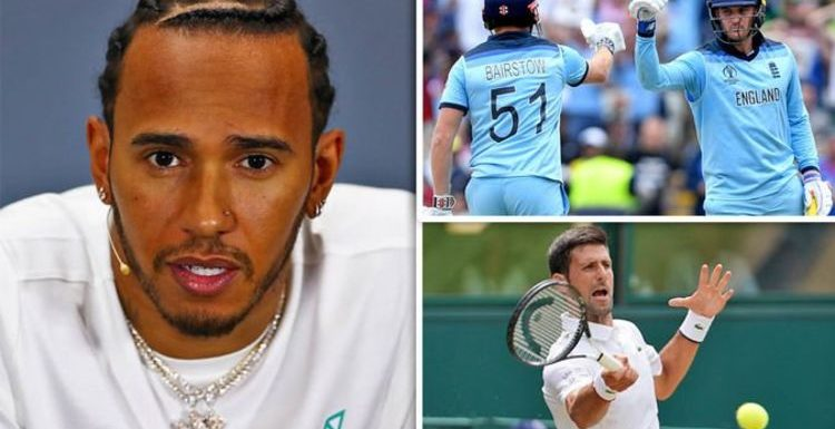 Lewis Hamilton fumes at British Grand Prix clash with Wimbledon, Cricket World Cup finals