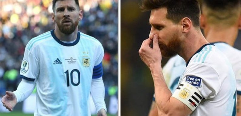 Lionel Messi facing shock two-year ban following Argentina Copa America comments