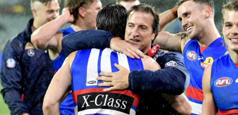 Beveridge aiming for the top with his Bulldogs