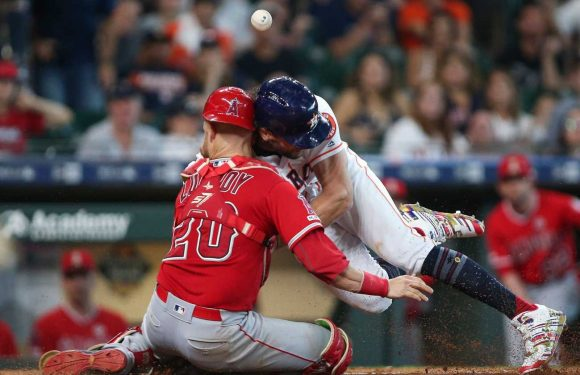 Jake Marisnick suspended two games by MLB for collision at home with Jonathan Lucroy