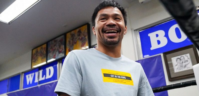 Pacquiao outlines when he will quit boxing ahead of Thurman fight