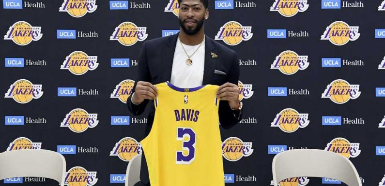 Anthony Davis sidesteps question on long-term future with Lakers