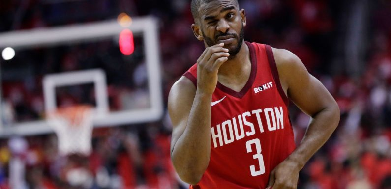 So, Yeah, The Rockets Really Did Not Want Chris Paul Anymore