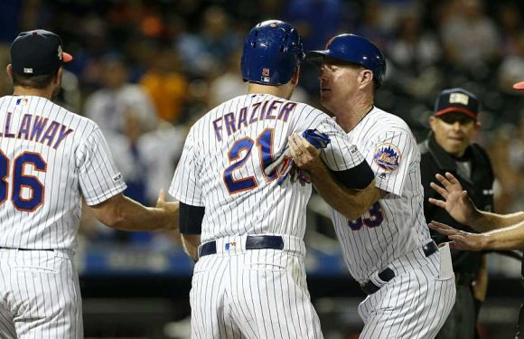 Todd Frazier: Jake Arrieta went 'a little overboard' with dented skull threat