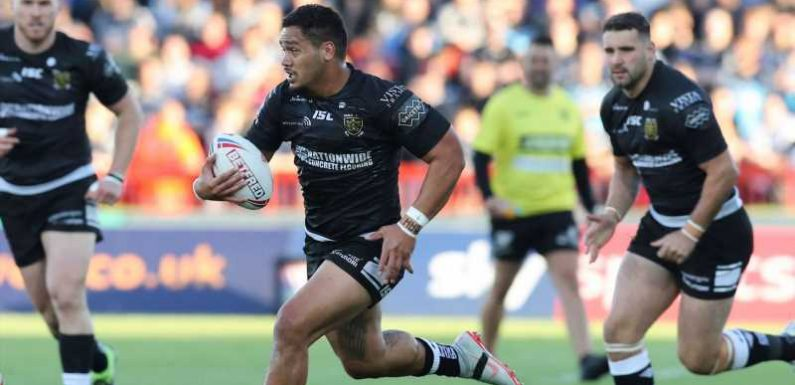 Hull 35-22 London: Black and Whites limp to victory after dominant first half