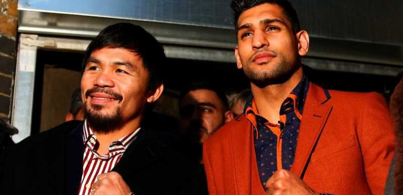 Amir Khan claims fight with Manny Pacquiao is signed for November 8 in Saudi Arabia
