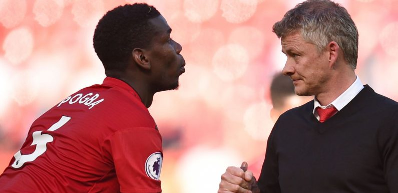 Ole Gunnar Solskjaer wants to build around Paul Pogba at Manchester United