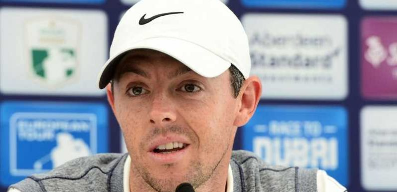 Rory McIlroy 'fully focused' on Scottish Open ahead of The Open