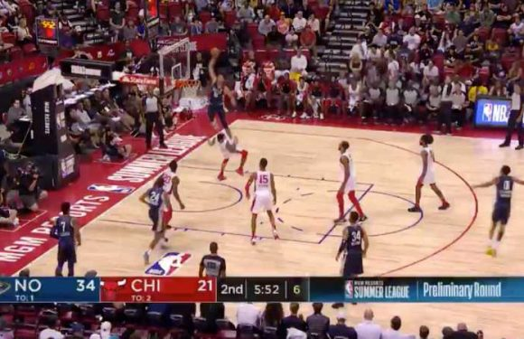 A Pelicans Rookie Had The Best Dunk Of Summer League And It Was Not Zion Williamson