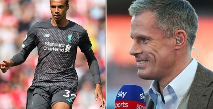 Jamie Carragher reveals three Liverpool players could lose their place despite Arsenal win