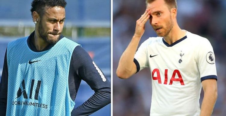 PSG planning shock £100m Neymar replacement which could affect Christian Eriksen's future