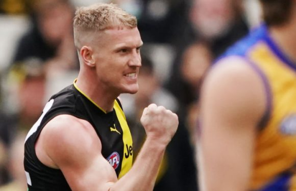 Richmond hang on in thriller against Eagles