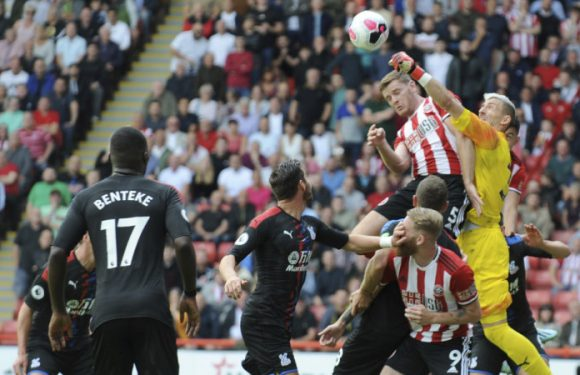 Lundstram strike gives Sheffield United win over Crystal Palace