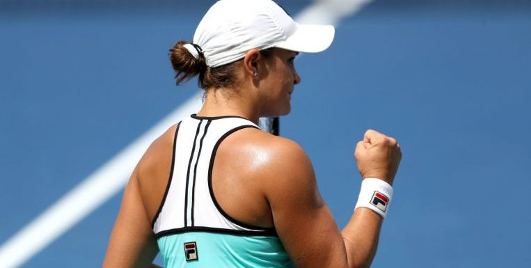 Tennis: Barty downs Sharapova in Cincinnati battle of former world number ones